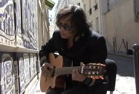 Rodriguez on the streets of Paris