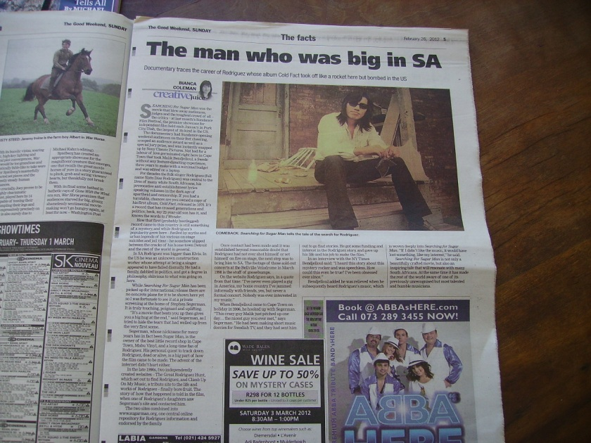 Rodriguez: The Man Who Was Big In SA