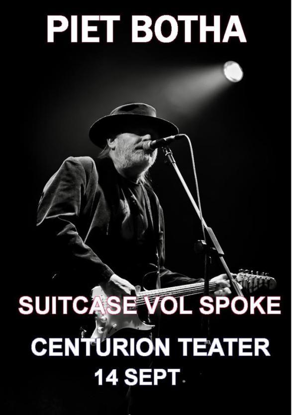 Piet Botha Centurion Teater 14 Sept