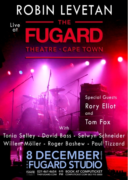 Robin Levetan Live at The Fugard