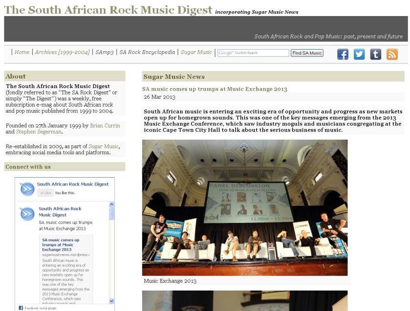 SA Rock Digest