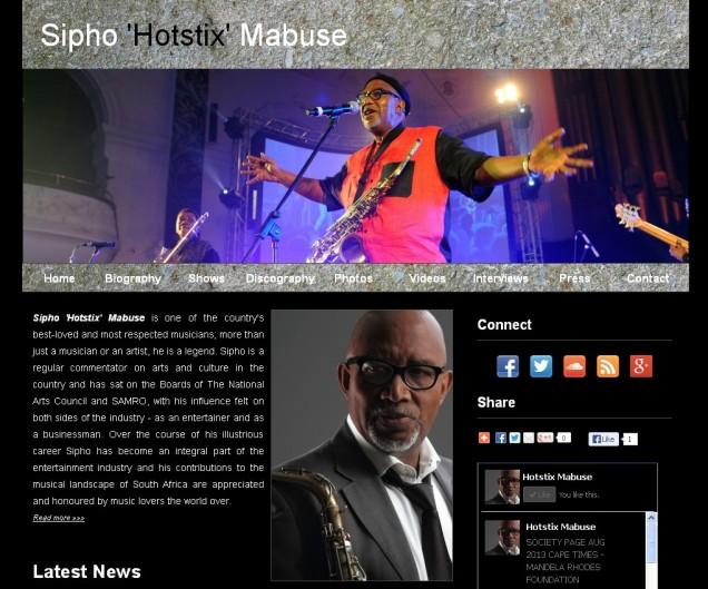 """Sipho """"Hotstix"""" Mabuse"""