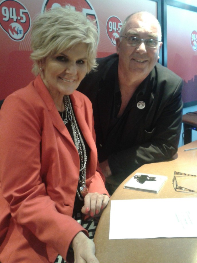 PJ Powers and Brian Currin at KFM